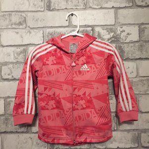 Adidas  Baby Girl's Zip-Up Jacket 12-18 Months